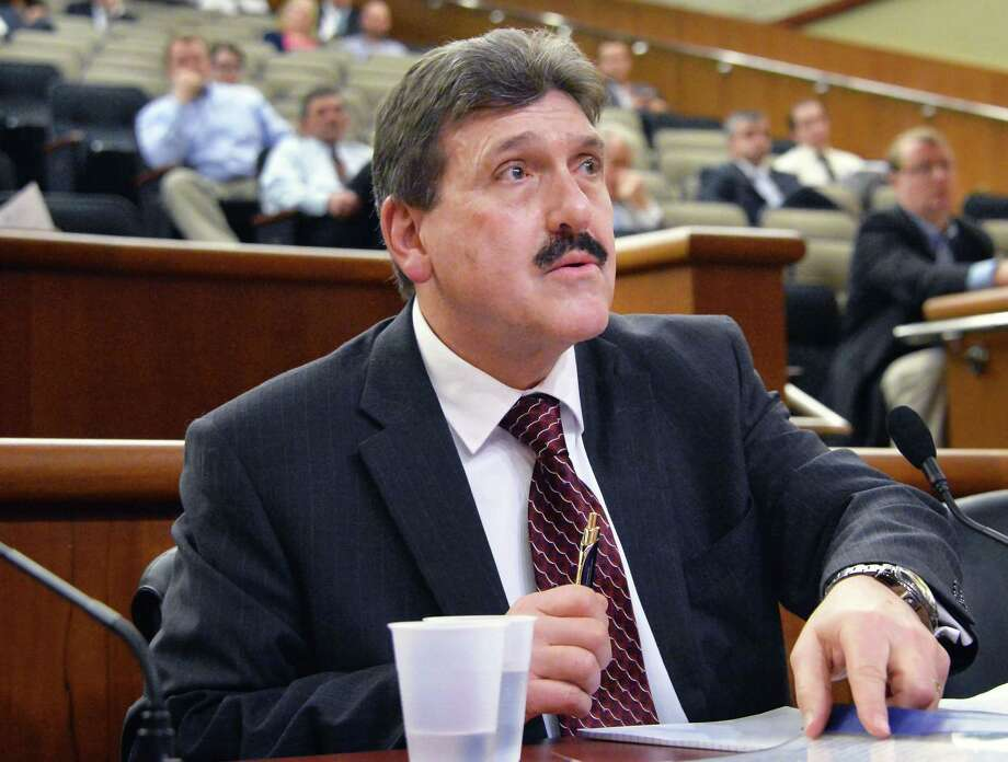 Acting Commissioner of the New York State Department of Corrections Anthony Annucci testifies before a joint legislative hearing on public protection at the LOB Thursday Feb. 4, 2016 in Albany, NY.    (John Carl D'Annibale / Times Union) Photo: John Carl D'Annibale