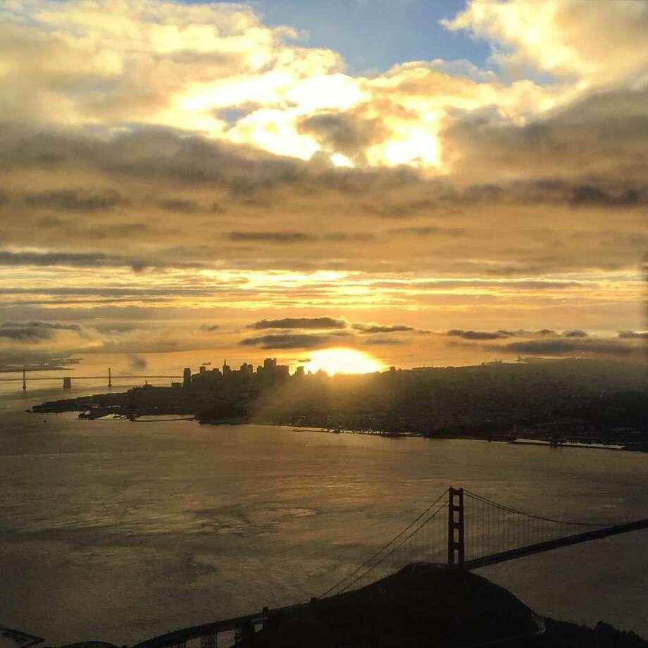San Francisco sunrises by Ron Cervi Photo: Ron Cervi