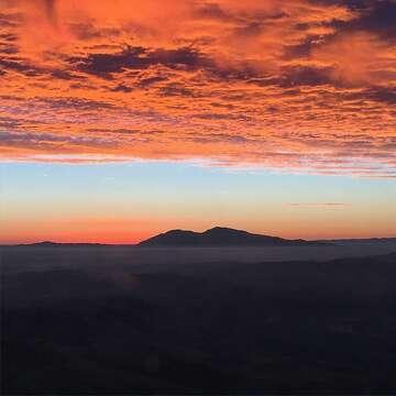 Sunrise above San Francisco: KCBS traffic reporter shares