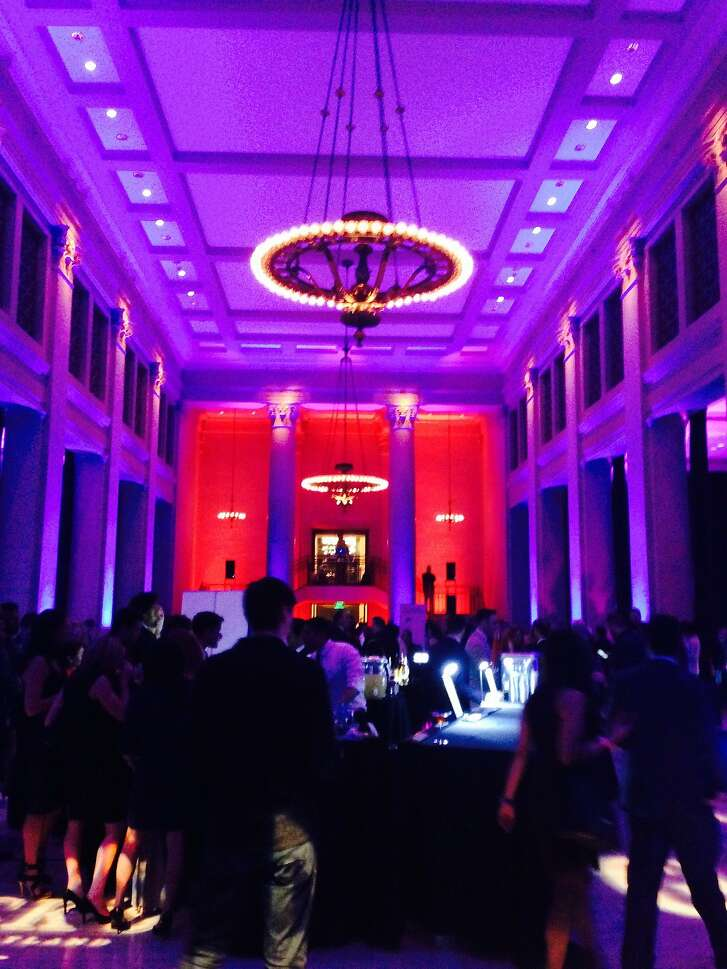 The scene at Modern Man Sport: The Black Card Experience at the Bently Reserve.
