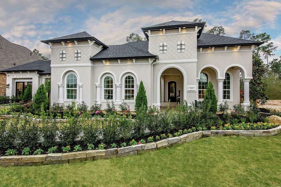 The Vanguard Mediterranean Home Design Is One Of The Three Offered In The  Reserve At Katy