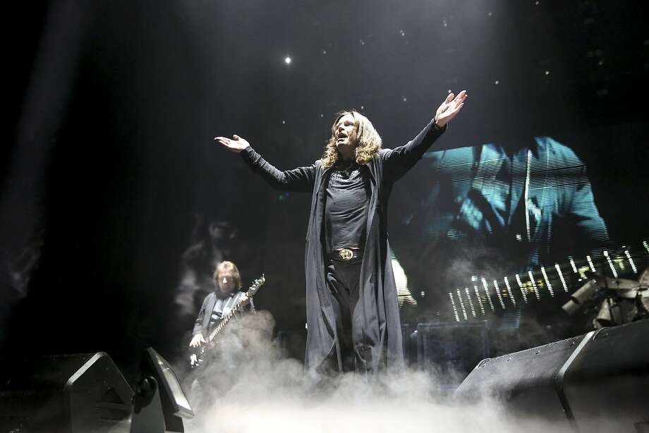 Ozzy Osbourne of Black Sabbath, which performs at the SAP Center in San Jose. Photo: Armando L. Sanchez, McClatchy-Tribune News Service