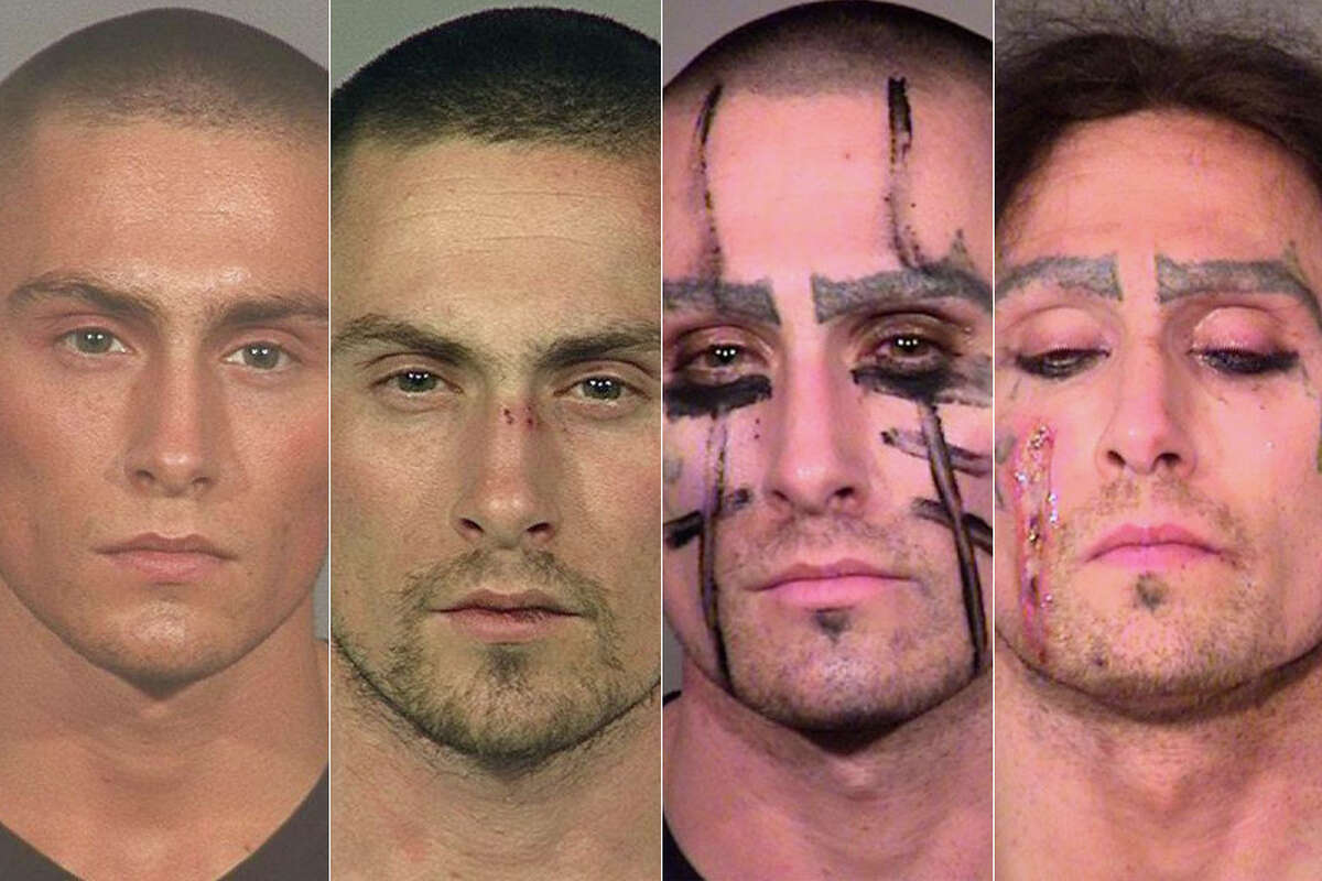 See how the mugshots of Matt Joseph Medlin changed after 12 years of run-ins with Oregon law enforcement for alleged drug use.