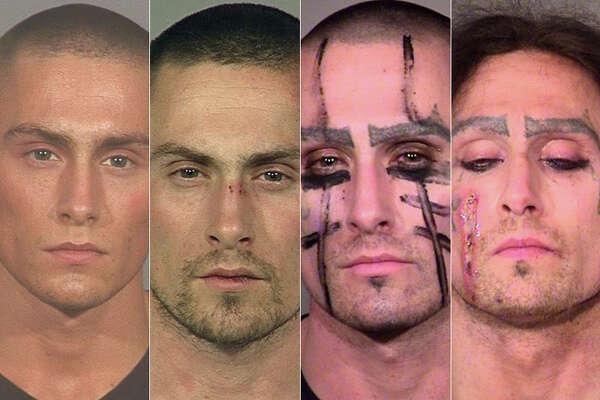 Oregon man with bizarre mugshot series arrested for 16th