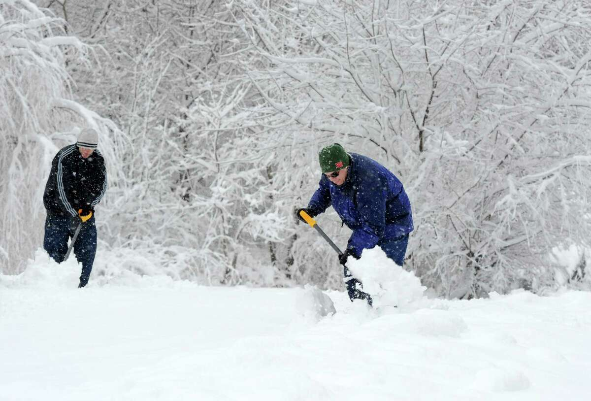 Click through the slideshow to see tips from the Red Cross on preparing for a winter storm.