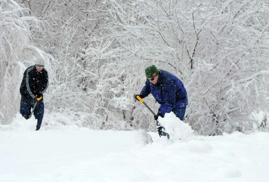 Click through the slideshow to see tips from the Red Cross on preparing for a winter storm. Photo: Cathy Zuraw, Hearst Connecticut Media / Connecticut Post