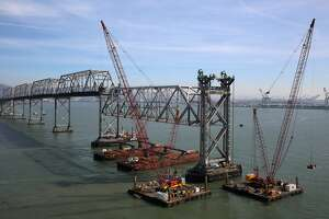 More of the old Bay Bridge comes down - Photo