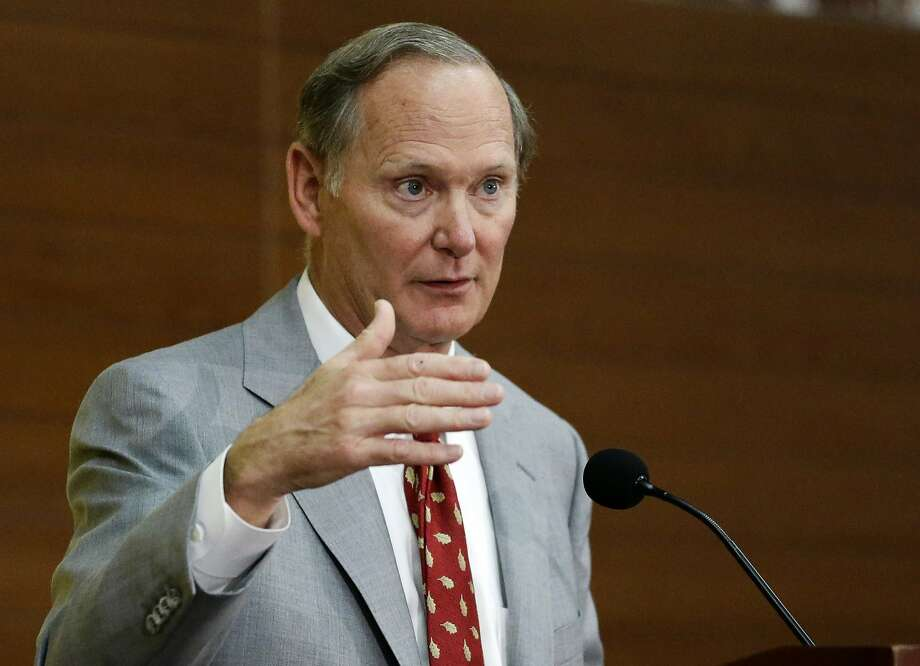 Pat Haden has declared his work finished at USC. Photo: Jae C. Hong, Associated Press
