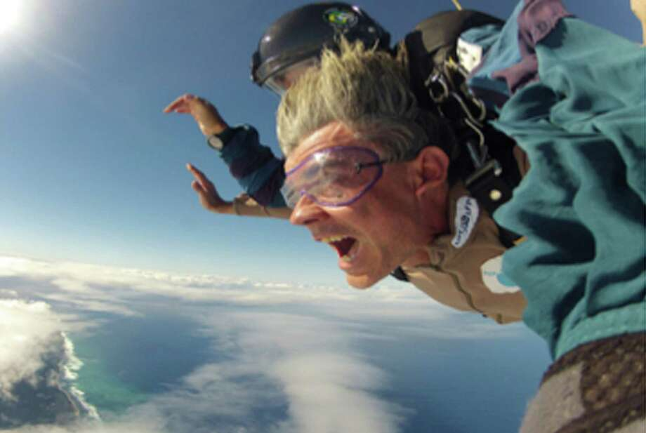 SkydiveThe ultimate adrenaline rush is jumping out of a plane. Head over to Storrs where experienced skydivers and first-timers can feel the rush.  Photo: Contributed Photo / Greenwich Citizen