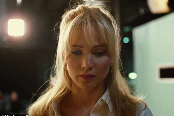 "Joy Mangano (Jennifer Lawrence) faces a moment of truth, just before her first Miracle Mop appearance on QVC, in the David O. Russell comedy, ""Joy."""