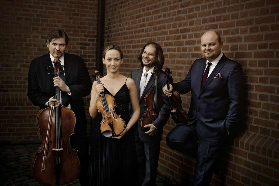 The Szymanowski Quartet played only one work by its namesake. Photo: Irène Zandel