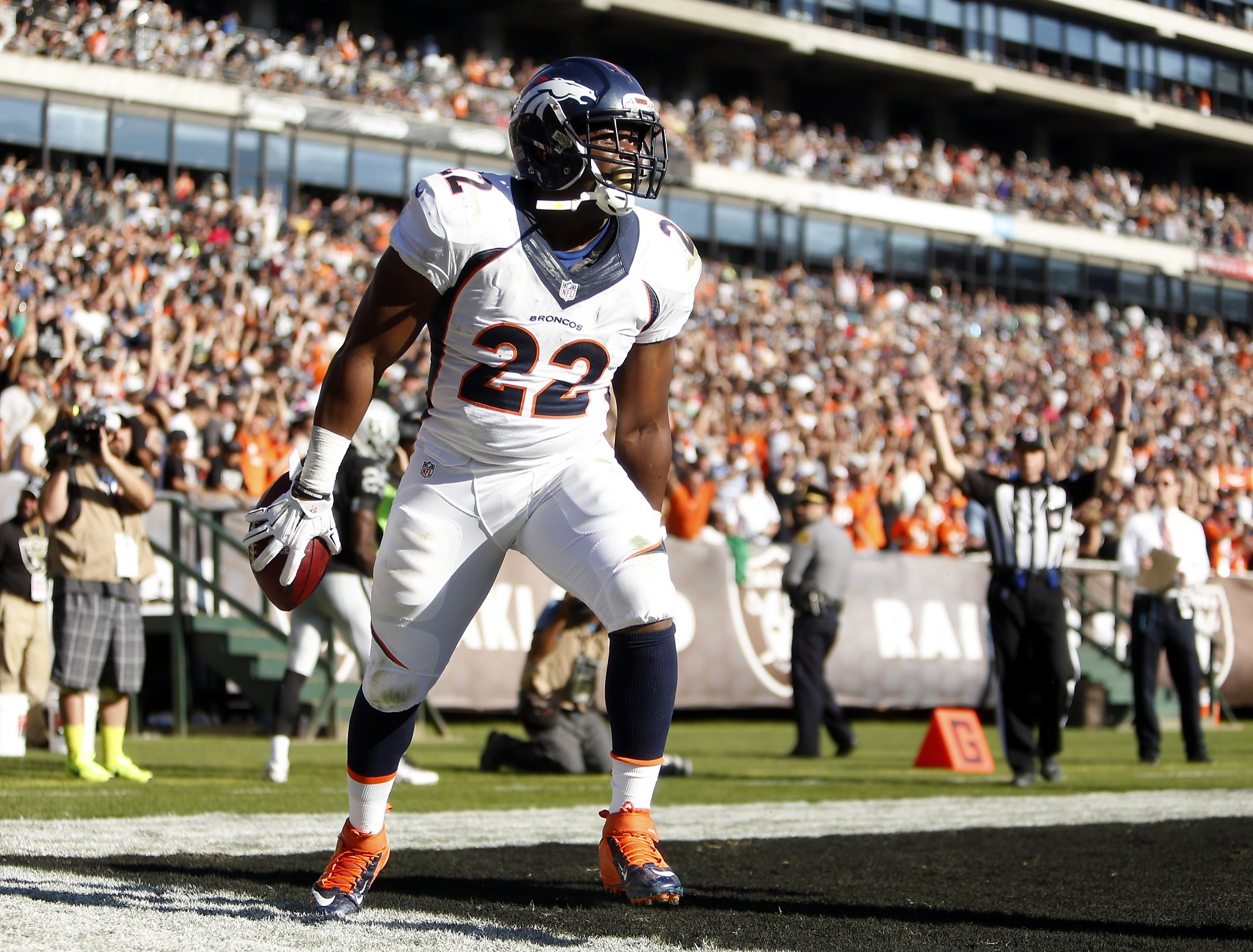 Broncos' C.J. Anderson credits Bay Area for NFL success