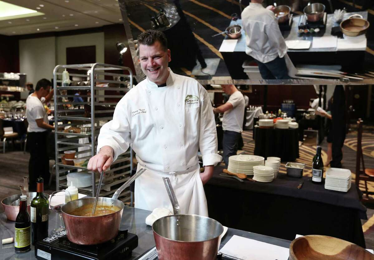 Danny Trace, of Brennan's of Houston, poses for a photo at Bon Vivant