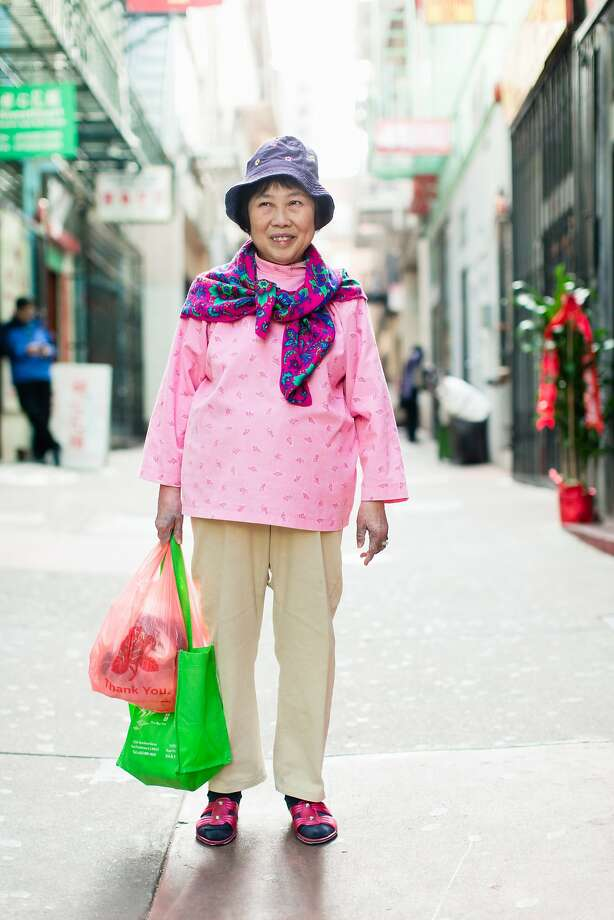 """Julie Fong is among the residents of San Francisco's Chinatown who were photographed for the exhibit """"Chinatown Pretty"""" at 41 Ross. Photo: Andria Lo"""