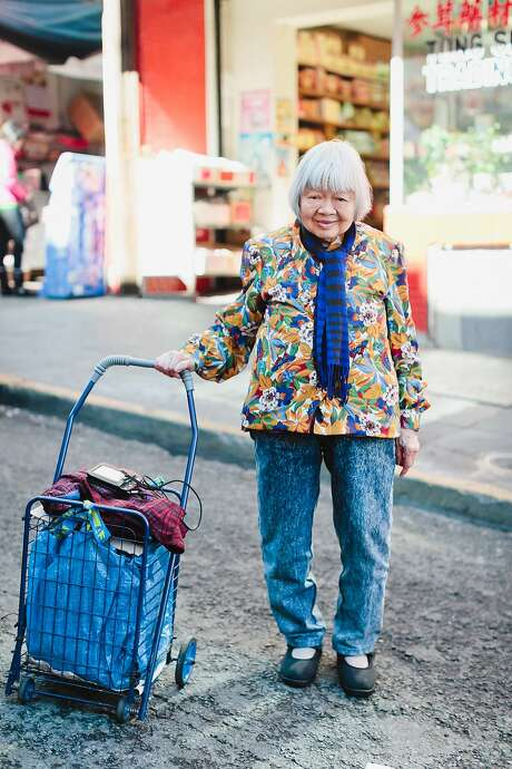"""ShiPing Tay lives in San Francisco's Chinatown and was photographed for the exhibit """"Chinatown Pretty"""" at 41 Ross. Photo: Andria Lo"""