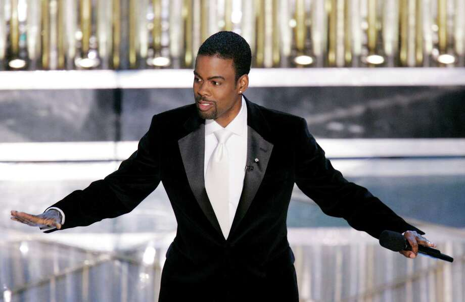Chris Rock shown here performing his monologue to open the 77th Academy Awards in 2005. Photo: MARK J. TERRILL /Associated Press / AP