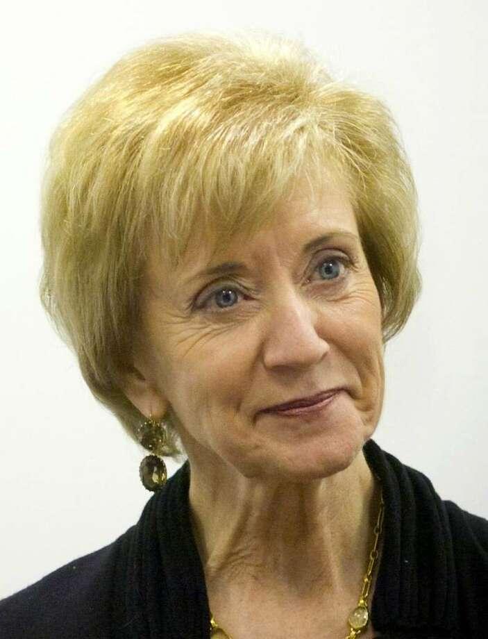 Linda McMahon, Republican candidate for the U.S. Senate Photo: File Photo / Connecticut Post File Photo