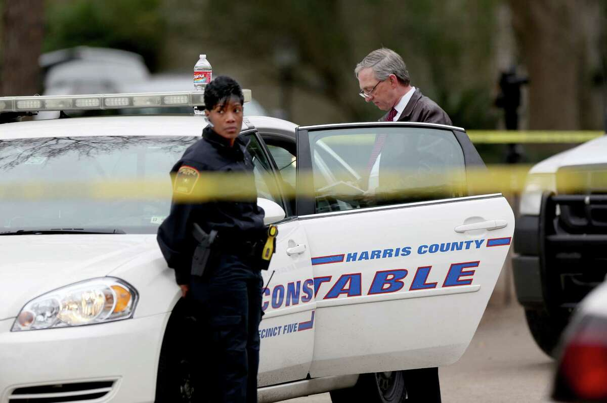 Constable offices have a core duty of serving civil warrants, such as eviction notices and child support collection. They also work with neighborhoods to provide extra police protection, especially in the unincorporated county. (Gary Coronado / Houston Chronicle )