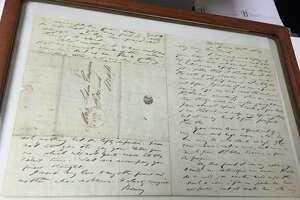 Treasures of the Bruce: Letter from Thoreau to Lidian Emerson - Photo