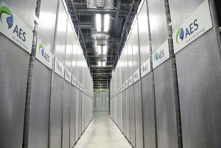 An AES Energy Storage battery system recently installed in Maryland will be similar to the lithium-ion battery storage system being installed this year in Dallas on Oncor land.