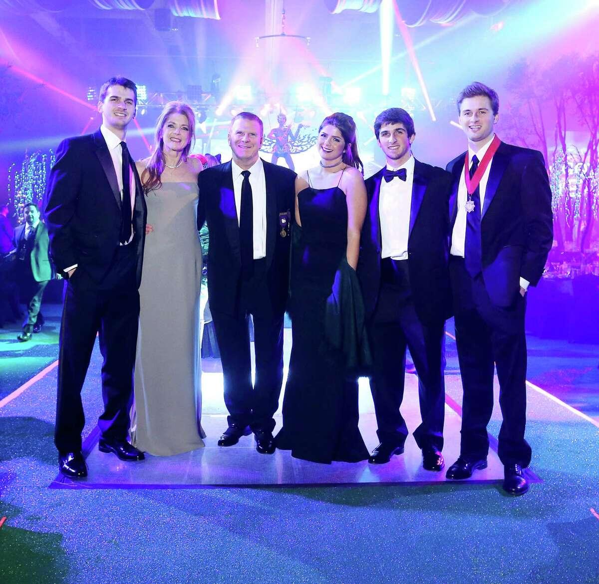 Michael, Paige, Tilman, Blayne, Blake and Patrick Fertitta