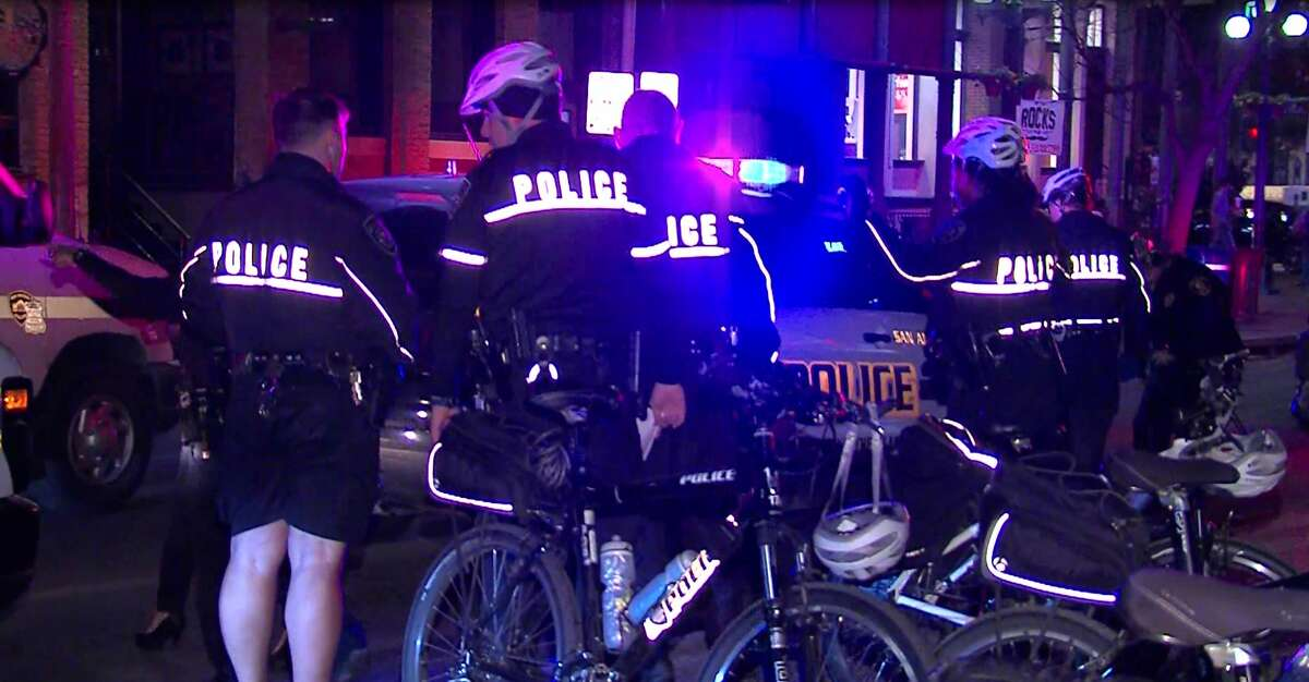 Several people were arrested and one man was transported to an area hospital after a brawl broke out in downtown San Antonio on Feb. 6, 2016.