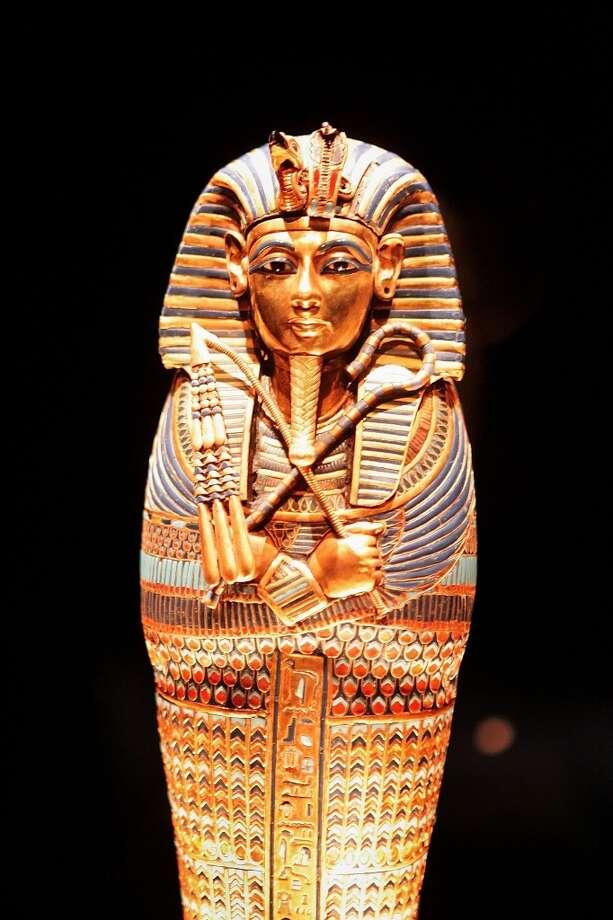 King TutankhamenAnalysis of King Tut's mummy revealed he had TB. Photo: Getty Images
