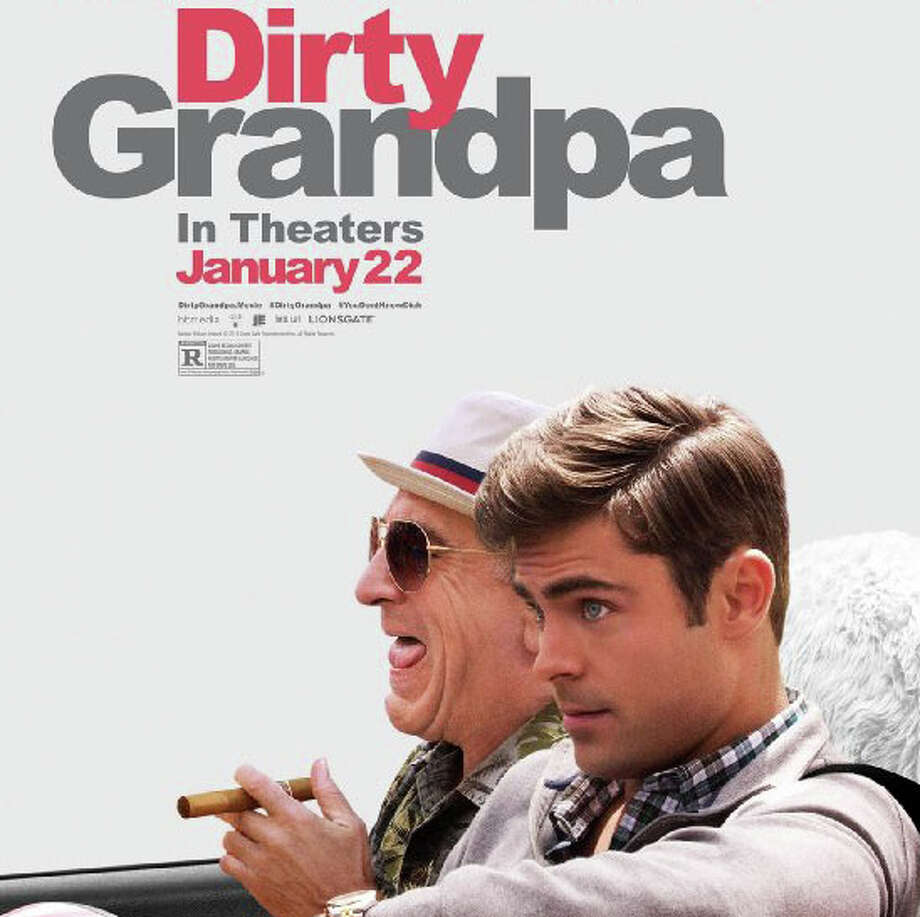 "Robert De Niro and Zac Efron star in the new movie comedy, ""Dirty Grandpa."" Photo: Contributed Photo / Westport News"