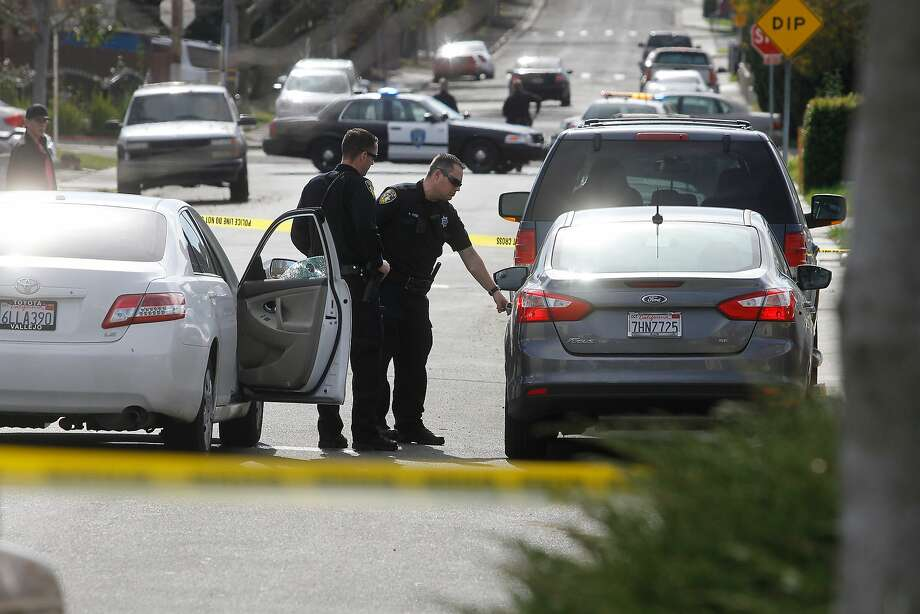 Vallejo Police say a man was shot and killed near the intersection of Springs Rd. and Heartwood Ave. in Vallejo on Saturday, Feb. 6, 2016. Photo: Chris Preovolos/SFGate