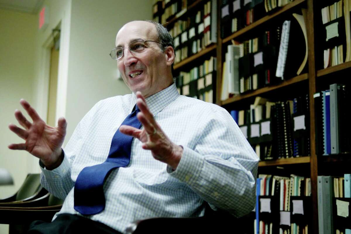 Rocco Ferraro, executive director of the Capital District Regional Planning Commission, talks about his work and his upcoming final year at the helm of the commission during an interview on Wednesday, Feb. 3, 2016, in Colonie, N.Y. (Paul Buckowski / Times Union)