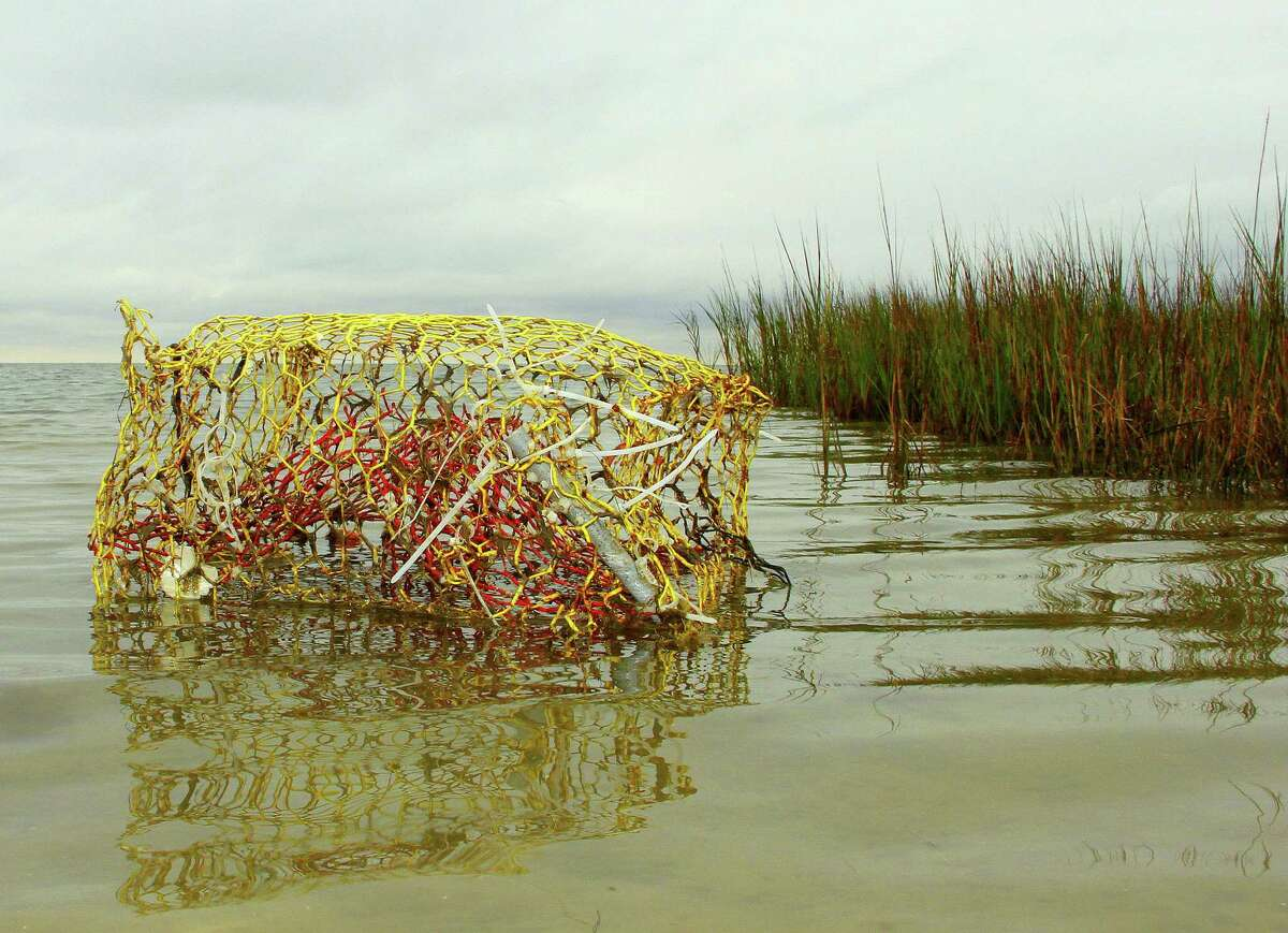 Volunteers have removed more than 31,000 derelict crab traps - death traps for marine life - from Texas waters since an annual trap removal program began in 2002.
