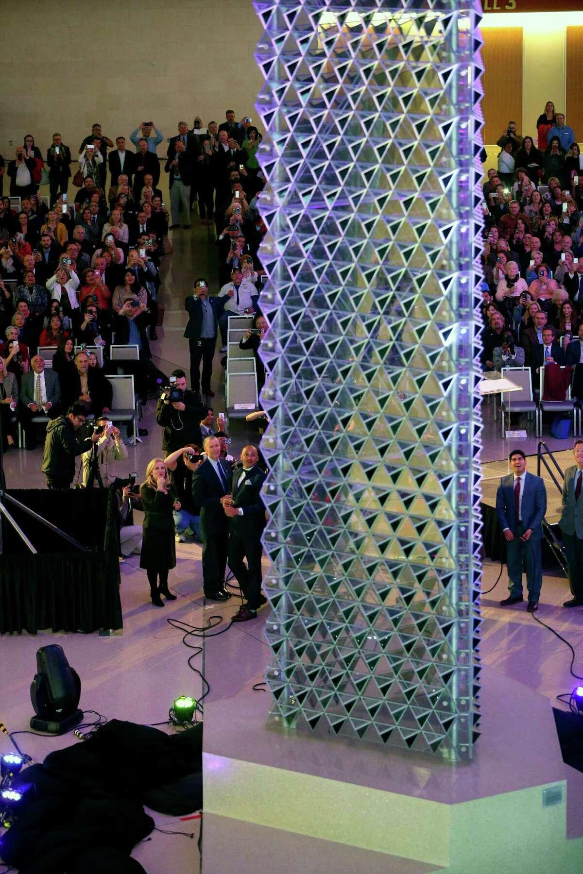 2. The 30-foot-tall art installation