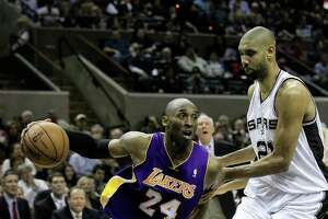 Kobe says Spurs rivalry fueled his career - Photo