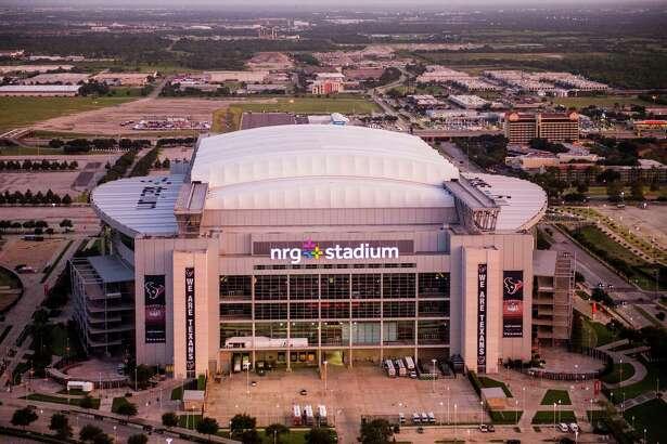 Aerial view of NRG Stadium on Wednesday, Aug. 20, 2014, in Houston. ( Smiley N. Pool / Houston Chronicle )