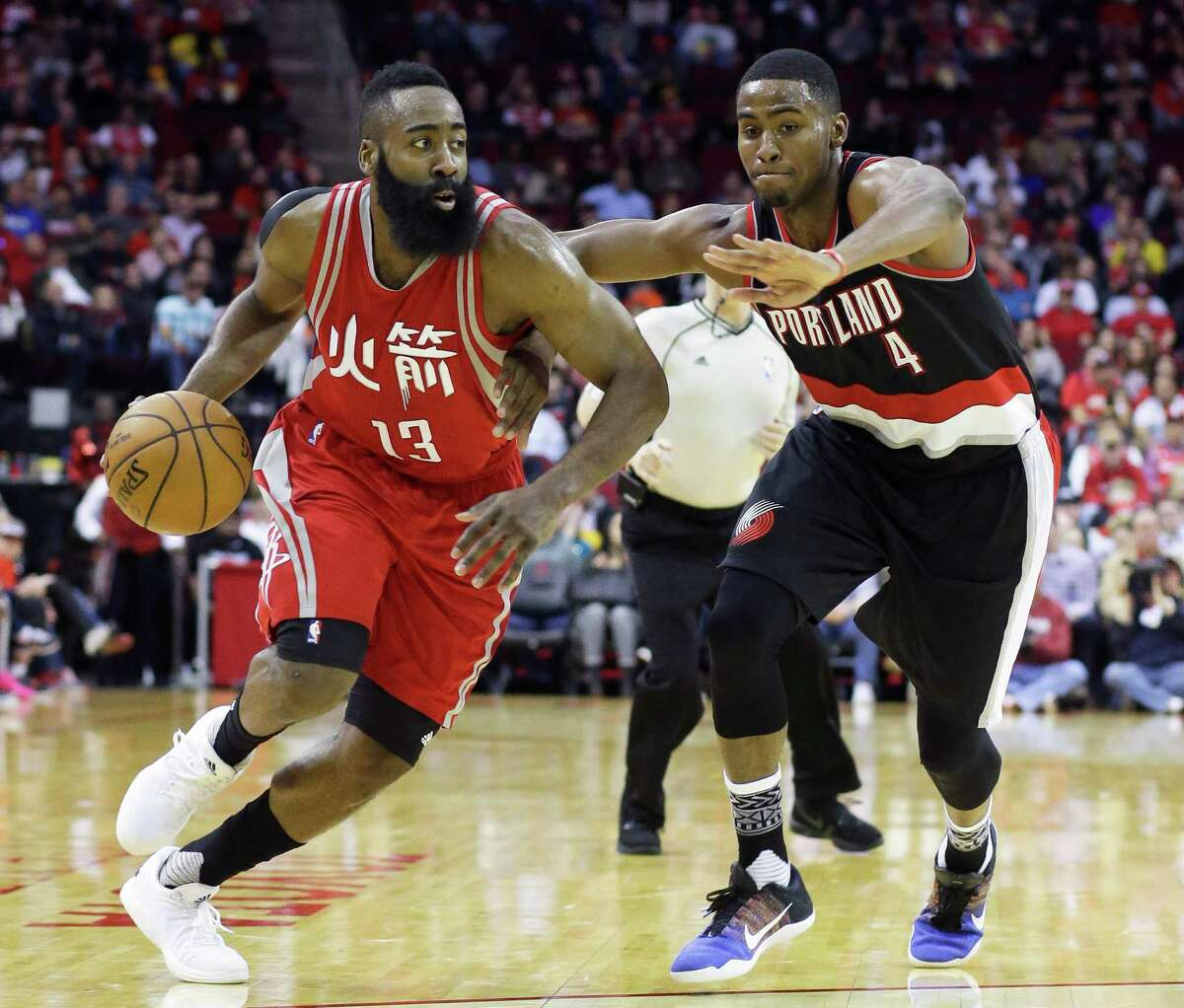 James Harden and the Rockets will look for payback Wednesday after being throttled at home Saturday by Portland.