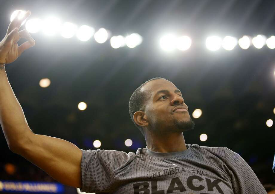 Andre Iguodala studied education at Arizona, where he was working on a minor in African American studies. During his two years in Tucson, Iguodala says he stopped recognizing Black History Month. Photo: Beck Diefenbach, Special To The Chronicle