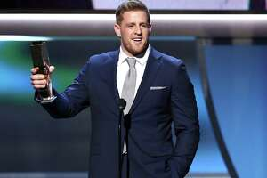Texans' J.J. Watt wins third NFL Defensive Player of the Year award - Photo