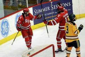 RPI hockey falls to Clarkson on Big Red Freakout night - Photo