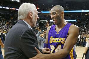 Kobe, Lakers give Spurs a tough game before falling - Photo