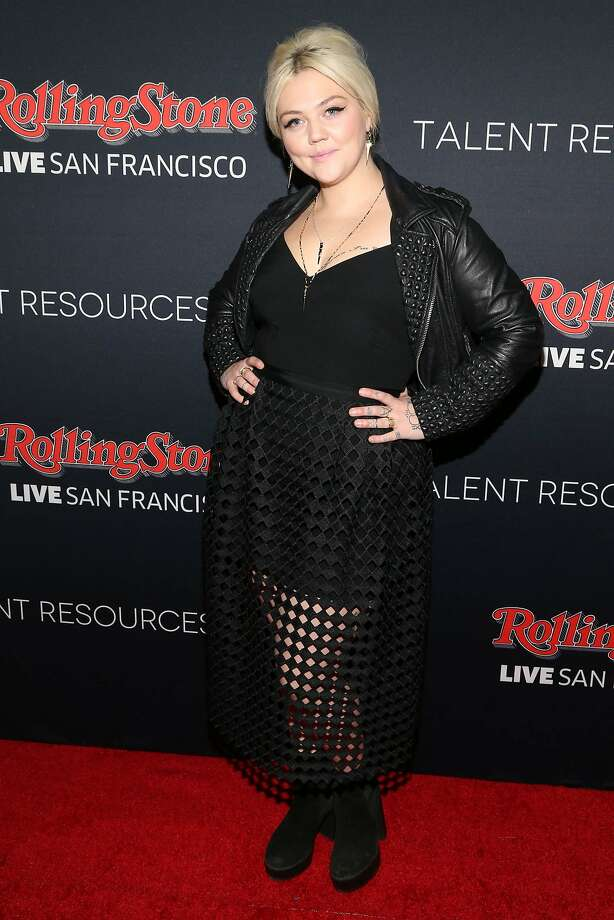 Elle King arrives at the Super Bowl 50 Rolling Stone Party at The Galleria at the San Francisco Design Center on Saturday, Feb. 6, 2016, in San Francisco. (Photo by Omar Vega/Invision/AP) Photo: Omar Vega, Associated Press
