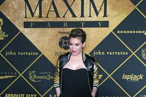 Celeb-studded crowd enjoys clubby Maxim party - Photo