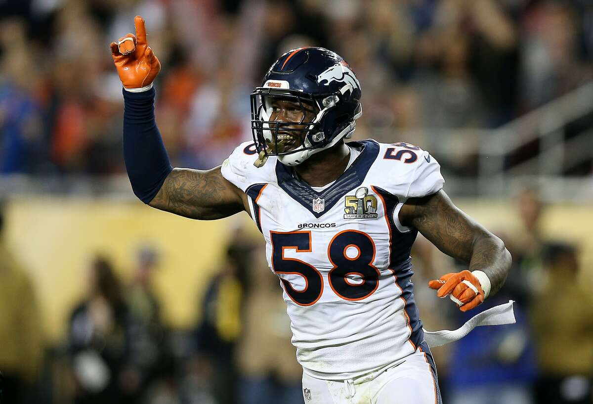 GOOD: Von Miller's monster game The former Texas A&M star was a one-man wrecking crew against Carolina to earn Super Bowl MVP honors. That undoubtedly was a relief for Aggies fans who'd seen another one of their former heroes, Johnny Manziel, dominate the headlines for the wrong reasons all week. Miller's timing couldn't have been better, either, as he'll be a free agent this offseason.
