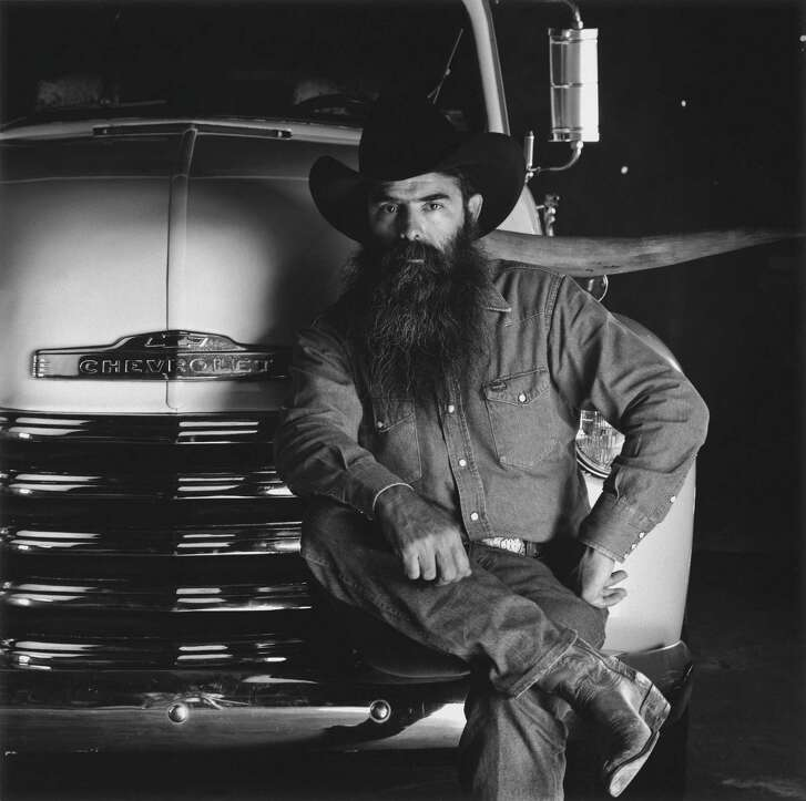 """Goode Company founder Jim Goode with his famous """"horn truck."""""""