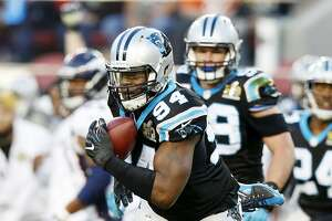 Carolina's Kony Ealy makes big impression in losing effort - Photo