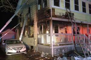 Fire damages home in Milford's Laurel Beach section - Photo