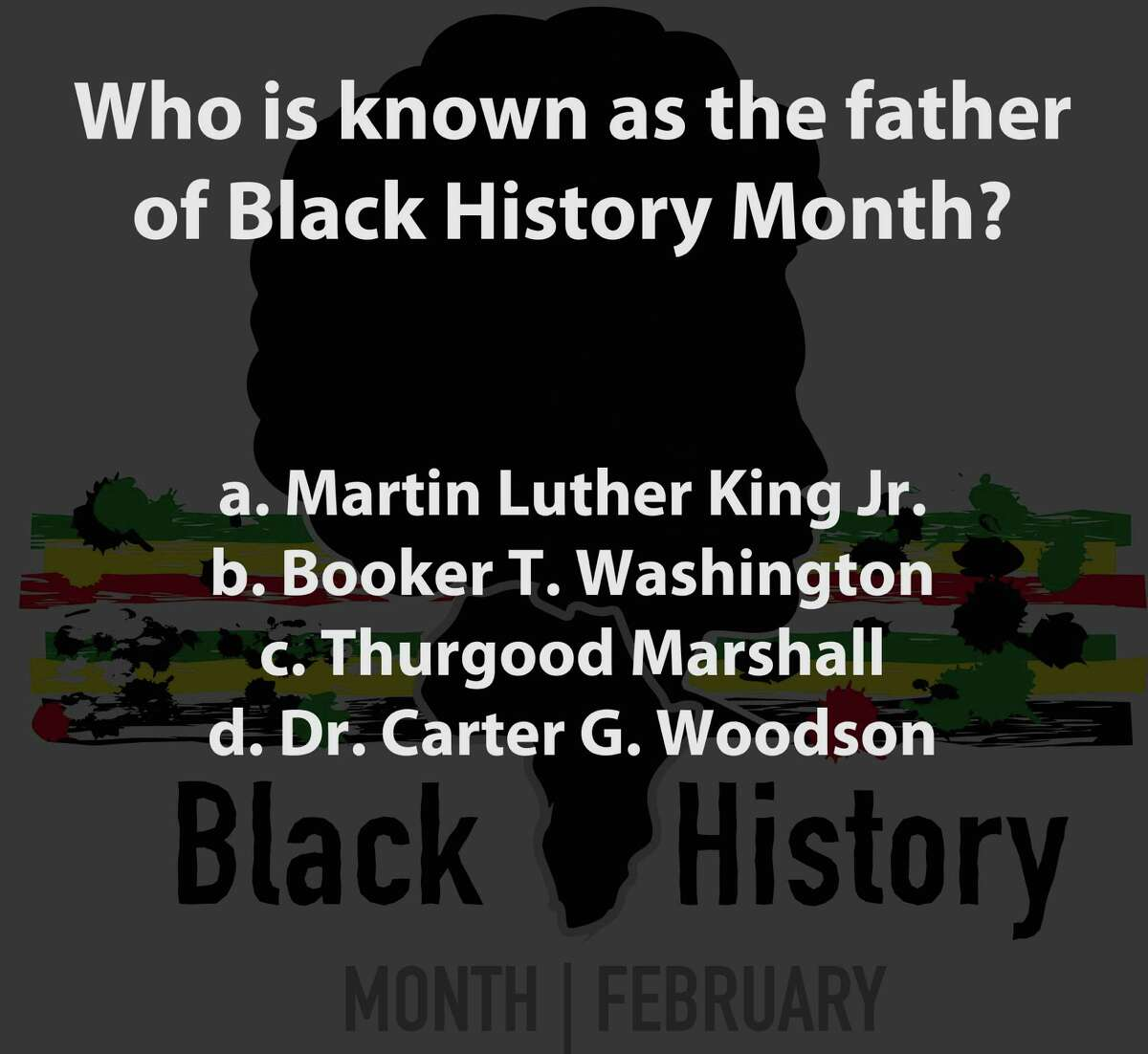 Test your knowledge with this Black History Quiz from Black Entertainment Television.
