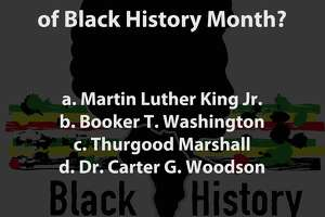 Do you know your black history? Take our quiz. - Photo