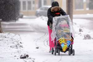 A snowy day is in store for the region - Photo