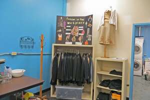 Student-run thrift store at Capital Region CTE helps classmates get interview-ready - Photo