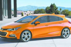 Chevrolet's redesigned 2016 Cruze sedan to be joined by new Hatch model for 2017 - Photo